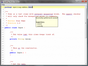 SpellChecker Add-on Preview