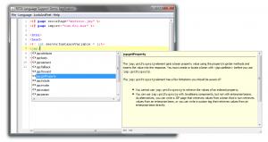 JSP Code Completion
