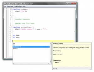 JS Code Completion - Day 1
