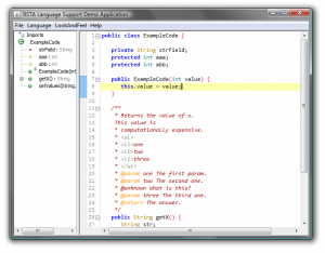 Scope Highlighting in the Gutter with Java Language Support