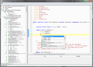 Java Code Completion