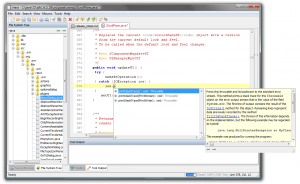 Java code completion in catch blocks