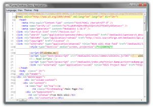 HTML Code Folding